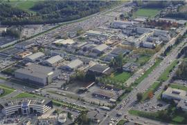 BCIT Burnaby campus aerial photograph [2 of 8]
