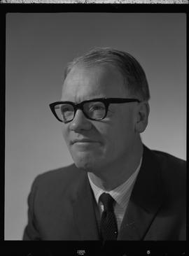 Lecky, John, Business Management, Staff portraits 1965-1967 (E) [5 of 5 photographs]