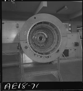 British Columbia Vocational School image of aircraft engine parts [8 of 9 photographs]
