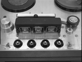 British Columbia Institute of Technology Broadcasting ; 1960s ; Ampex reel-to-reel tape recorder ...