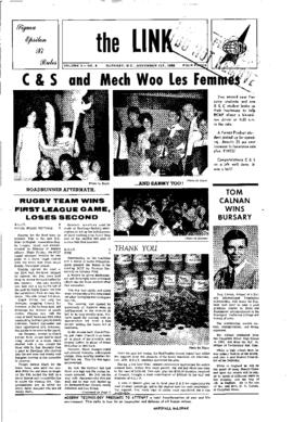 The Link Newspaper 1966-11-01