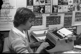 Link staff 1979-1980 - man typing