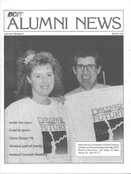 BCIT Alumni Association Newsletter 1992 Spring BCIT Alumni News