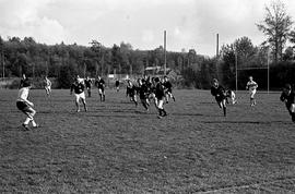 BCIT's Cougar Rugby sports team playing a game on the BCIT sports field. BCIT Recreation [11 of 1...