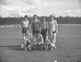 BCIT men's track and field, 1971