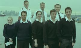 British Columbia Institute of Technology's image of Marine students at the Marine Scholarship Cer...