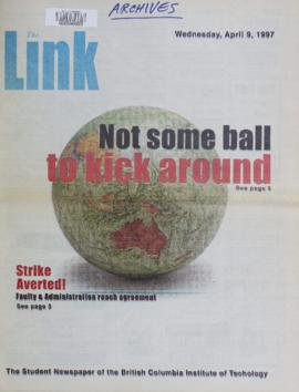 The Link Newspaper 1997-04-09