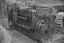 Pacific Vocational Institution ; two men working on large machinery [4 of 4]