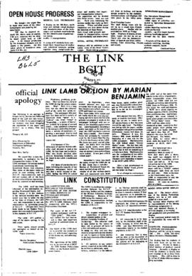 The Link Newspaper 1975-03-13