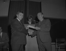 Student Scholarship Awards, BCIT, 1969 [45]