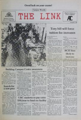 The Link Newspaper 1988-12-07