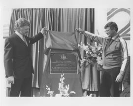 British Columbia Institute of Technology - Twenty Year Celebration, September 1984 - unveiling of...