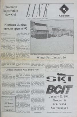 The Link Newspaper 1991-01-16
