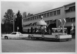 PVI Maple Ridge 1978-1981 ; Maple Ridge campus Smurf float [1 of 8]