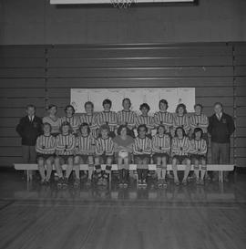 BCIT soccer men's team, 1973 [1 of 2]