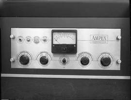 British Columbia Institute of Technology Broadcasting ; 1960s ; Ampex recorder controls