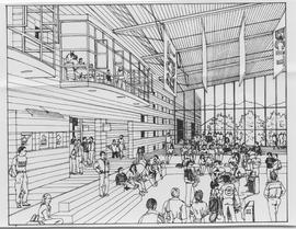 British Columbia Institute of Technology - Burnaby Campus - artist rendition of SE02 Great Hall