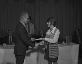 Student Scholarship Awards, BCIT, 1971 [53]