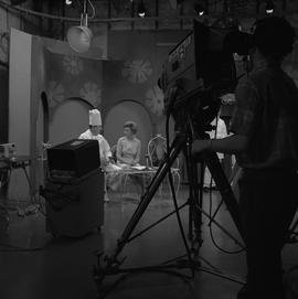 BCVS at Channel 8 TV; television set where a chef is being interviewed [2 of 2]