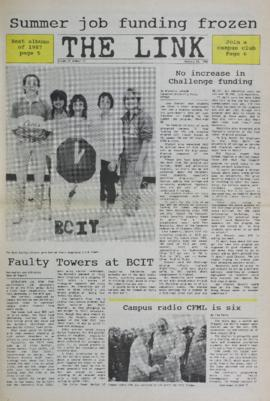 The Link Newspaper 1988-01-20