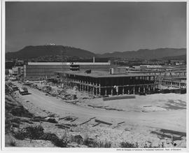 British Columbia Institute of Technology - SW9 - UBC. IED building in construction, 1967