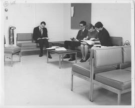 British Columbia Institute of Technology - Students in Lounge - Late 1960's