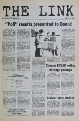 The Link Newspaper 1984-04-04