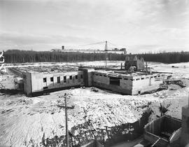BCIT construction, January 1967