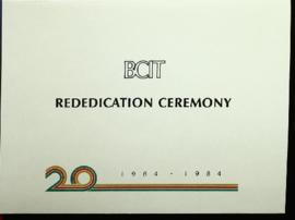 BCIT Rededication invitat...