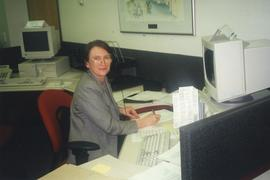 Alumni Phone-a-Thon, April 1999, Geraldine Dunnigan