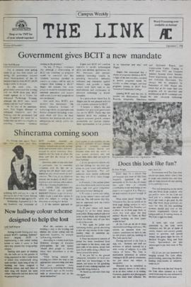 The Link Newspaper 1988-09-07