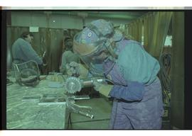 1998 Aluminum welding students, Woman in Trades, First Nations