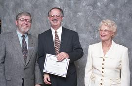 BCIT Staff Recognition Awards, 1996 ; Bob McKenzie, 10 years