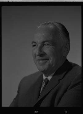 Turnbull, Malcolm (Mac), Stores Manager, Staff portraits 1965-1967 (E) [3 of 5 photographs]
