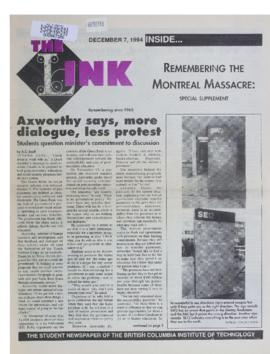 The Link Newspaper 1994-12-07