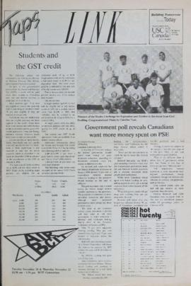 The Link Newspaper 1990-11-20