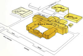 BCIT Map from Official Opening Brochure