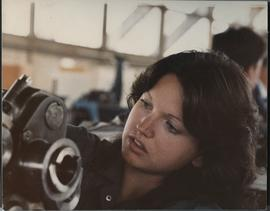 BCIT; Women in the Trades; 1980's; Avionics