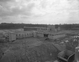 BCIT construction, April 1967
