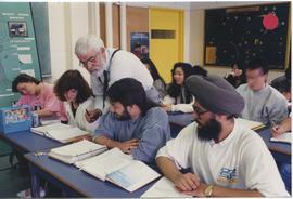 British Columbia Institute of Technology - Charles Cook and students - Academic Studies - Oct. 1995