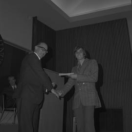 Student Scholarship Awards, BCIT, 1970 [6]