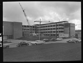 BCIT construction, March 9, 1967