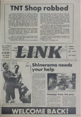 The Link Newspaper 1979-09-05