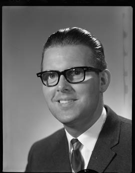 Hartz, Jochan, Business and Management, Staff portraits 1965-1967 (E) [2 of 3 photographs]