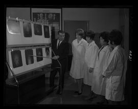 British Columbia Institute of Technology - program photographs - 1960's - Medical Radiology, X-ray