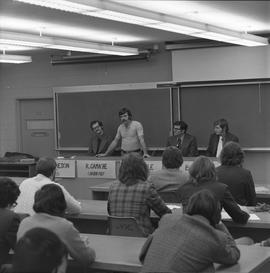 BCIT Programs Forestry Technology ; panel of instructors and students ; Rick Gamache, President o...