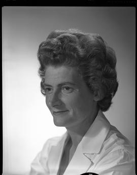 Wyse, Medical Lab, Staff portraits 1965-1967 (E) [3 of 5 photographs]