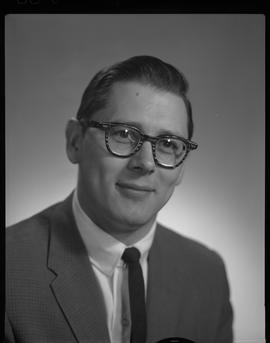 Riopel, R. (Dick), Business Management, Staff portraits 1965-1967 (E) [3 of 4 photographs]