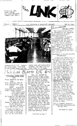 The Link Newspaper 1966-05-25