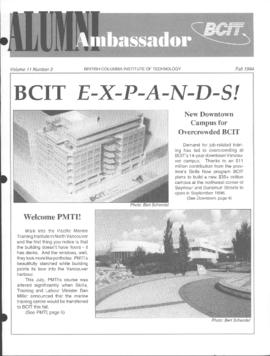 BCIT Alumni Association Newsletter 1994 Fall Alumni Ambassador